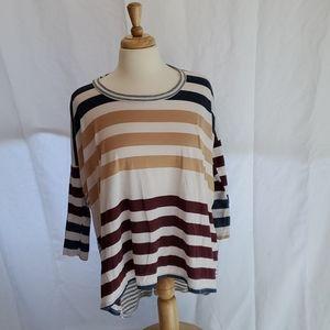 Multi-Stripe Top